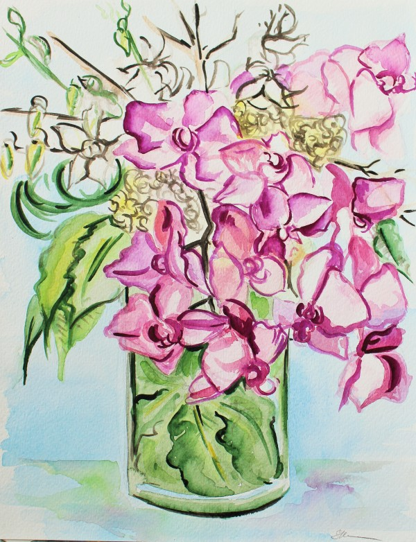 Orchid Bouquet by Sonya Kleshik