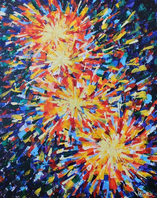 Fireworks by Sonya Kleshik