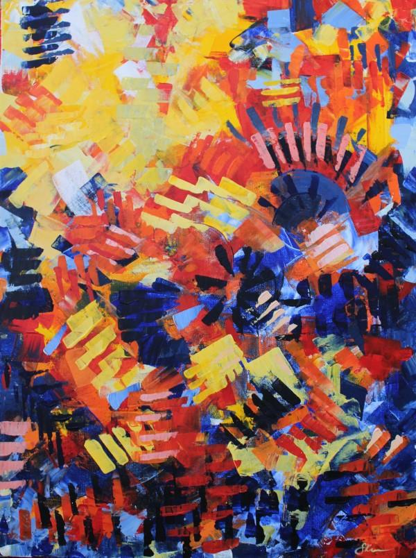 Primary Vibrance by Sonya Kleshik