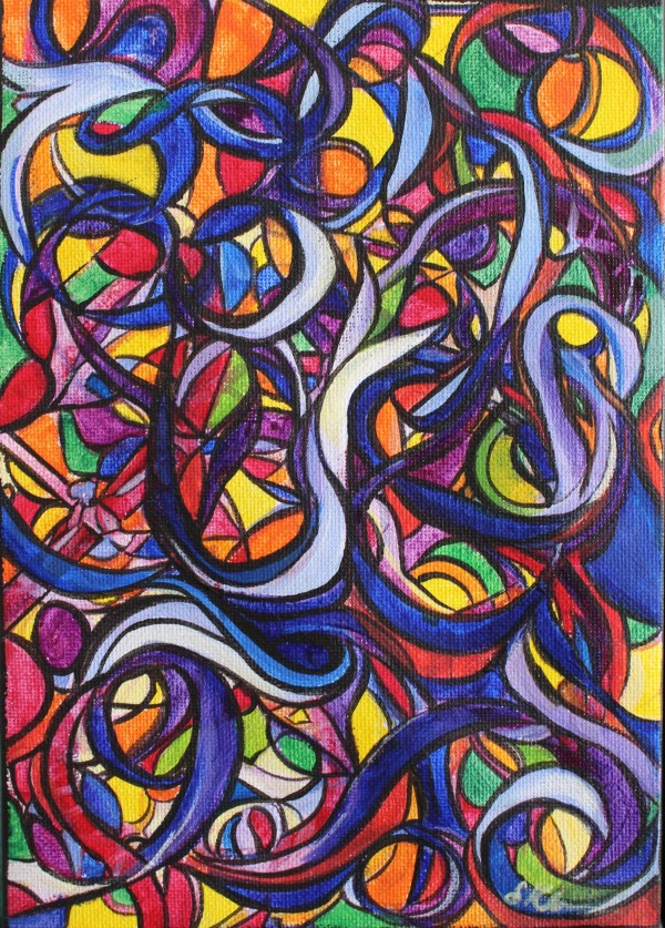 Kaleidoscope and Ribbons by Sonya Kleshik