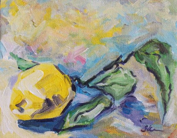 Lemon Branch by Sonya Kleshik