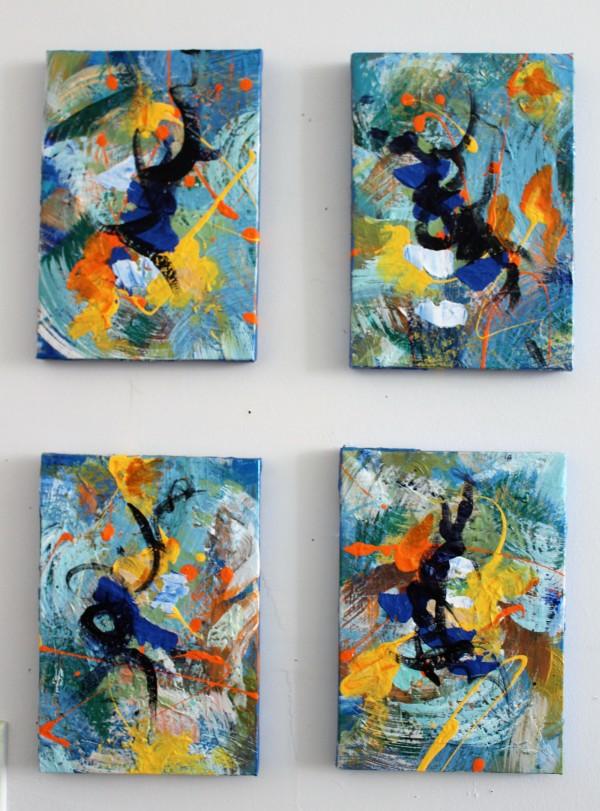 Dancers by Sonya Kleshik