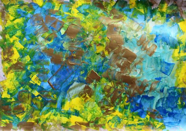 Golden Rain by Sonya Kleshik