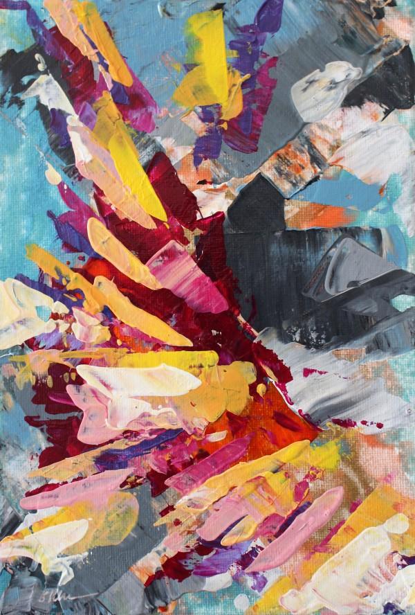 Unfolding Fan by Sonya Kleshik