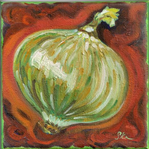 White Onion by Sonya Kleshik