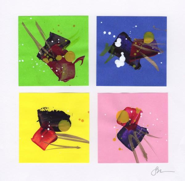 Origami Abstract 15 by Sonya Kleshik