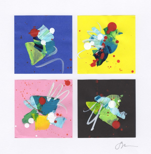 Origami Abstract 19 by Sonya Kleshik