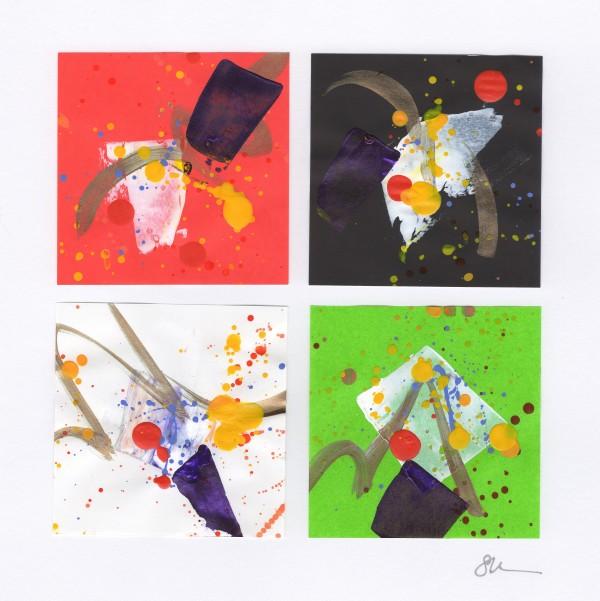 Origami Abstract 21 by Sonya Kleshik