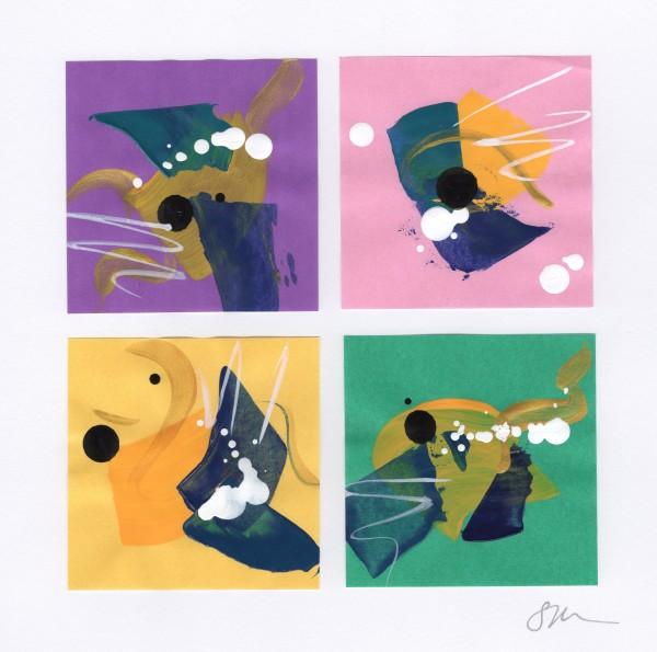 Origami Abstract 22 by Sonya Kleshik