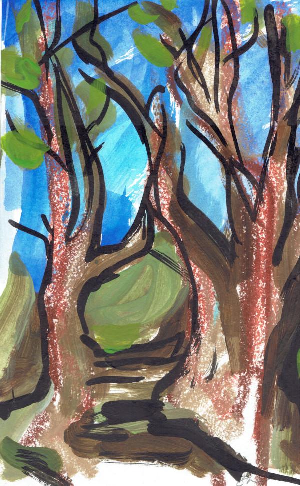Redwoods III by Sonya Kleshik
