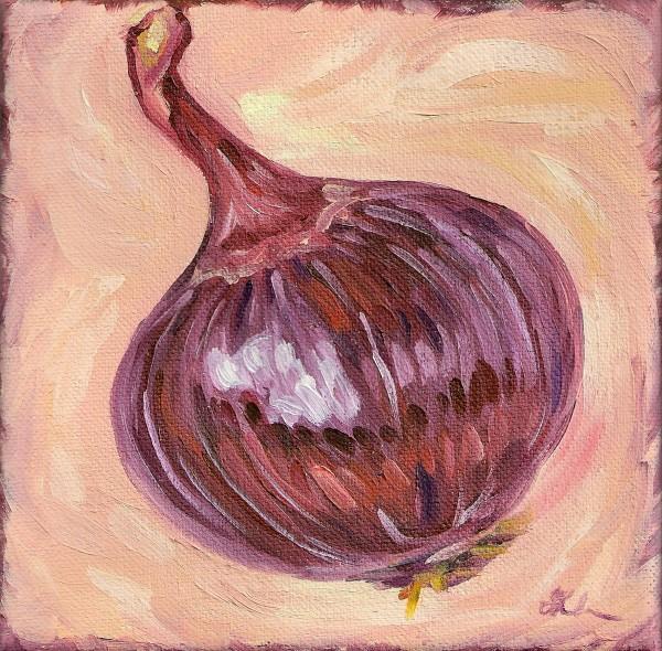 Red Onion by Sonya Kleshik