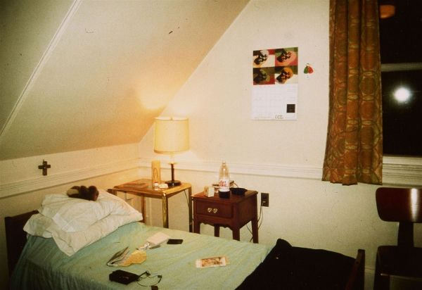 My Room in halfway House, Belmont, MA