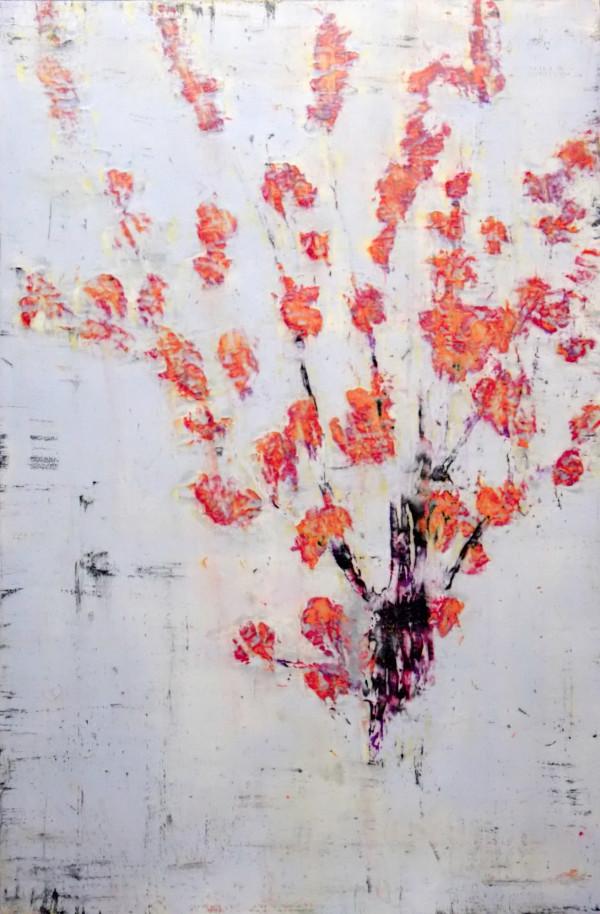 Kaiku Aka (Red Blooms) by Bernard Weston