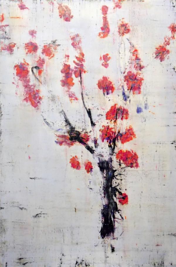 Mei Hua (Tall Plum) by Bernard Weston
