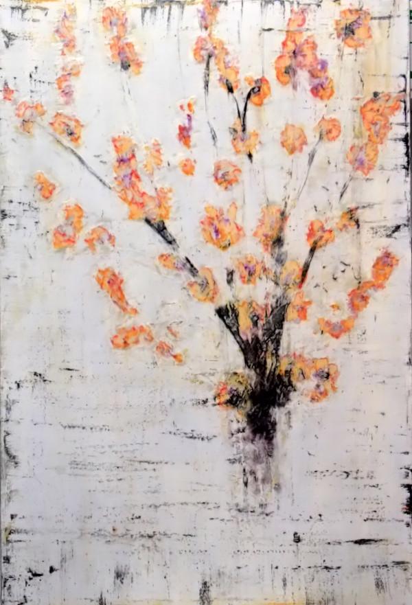 Ganjo marumero (Sturdy Quince) by Bernard Weston