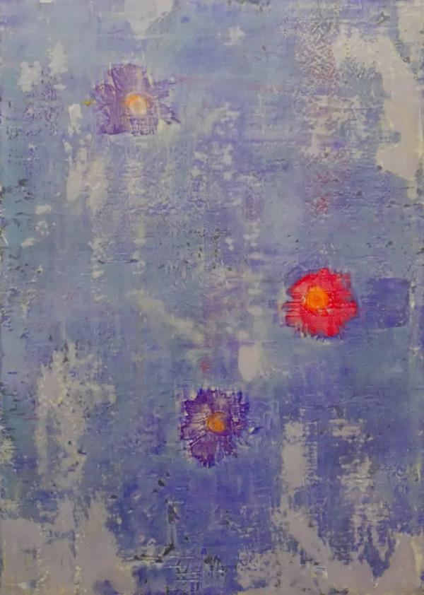 Suiren (Water Lily) by Bernard Weston