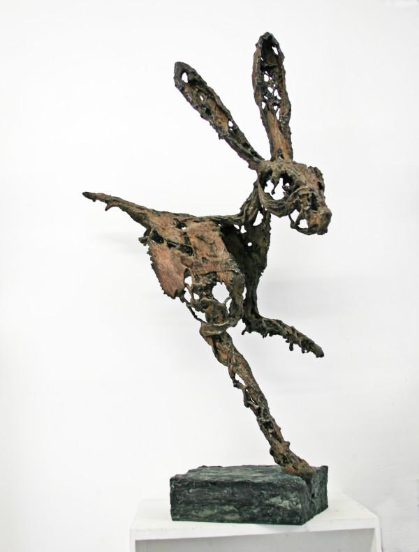 Running Hare by Melanie Deegan