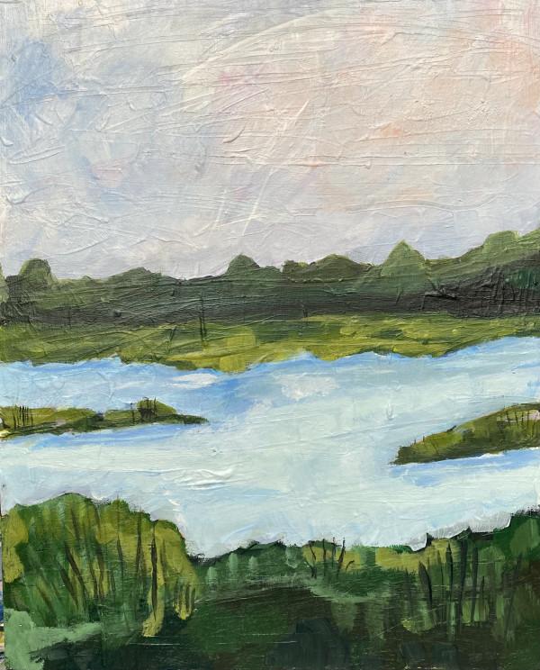 Salt Marsh V by Beth Murray