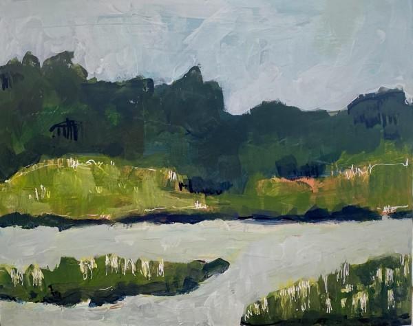 Salt Marsh III by Beth Murray