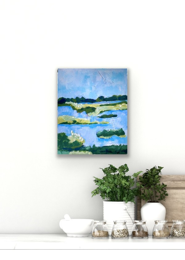 Salt Marsh II by Beth Murray