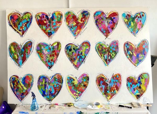 Happy Hearts by Beth Murray