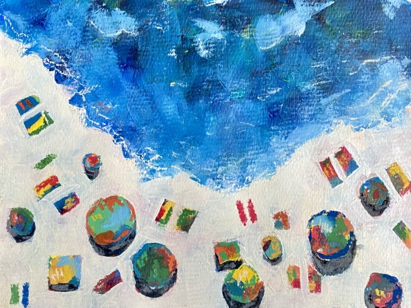 Blue Beach by Beth Murray