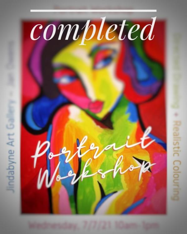 Portrait Workshop by Workshops 2021 Completed