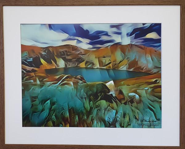 Blue Lake by Wanda Lach