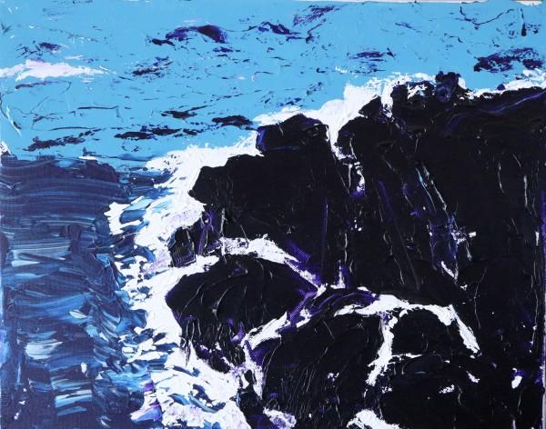 maui purple rocks 2 by Paige Zirkler