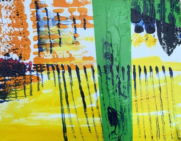 pier yellow green by Paige Zirkler