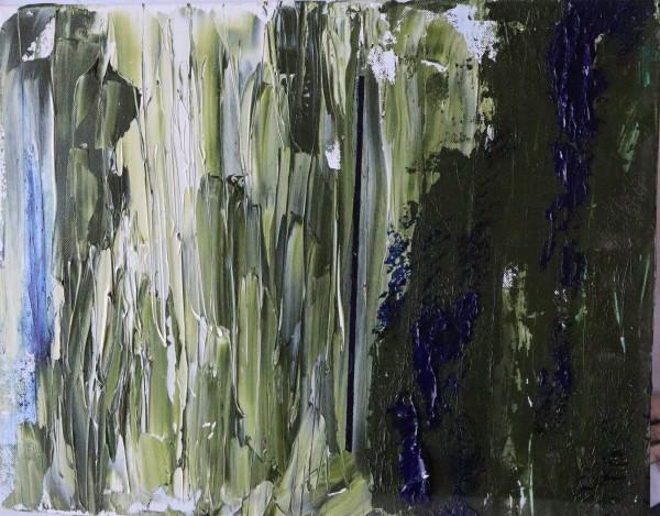 blue lith by Paige Zirkler