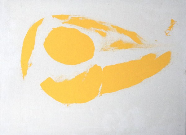yellow sculpt by Paige Zirkler