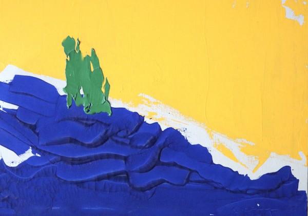 blues hill by Paige Zirkler