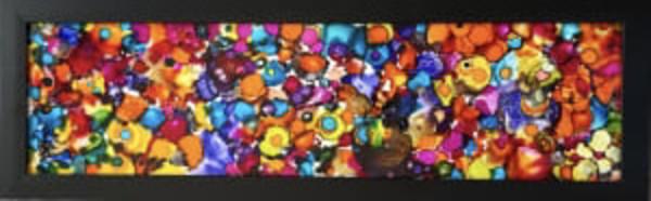 Diptych: Fireglass 1: Fireglass 11 by Susan Soffer Cohn