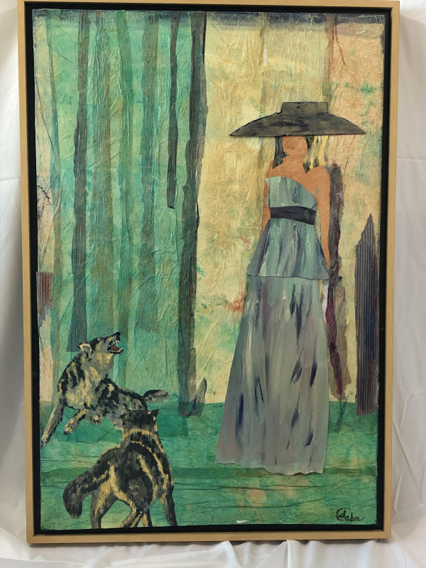 Woman with Hat by Susan Soffer Cohn