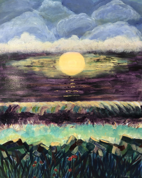 sunrise australia by Susan Soffer Cohn