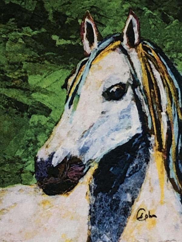 Rolled Mane by Susan Soffer Cohn