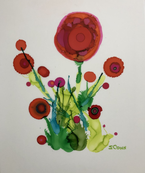 Poppy Five by Susan Soffer Cohn