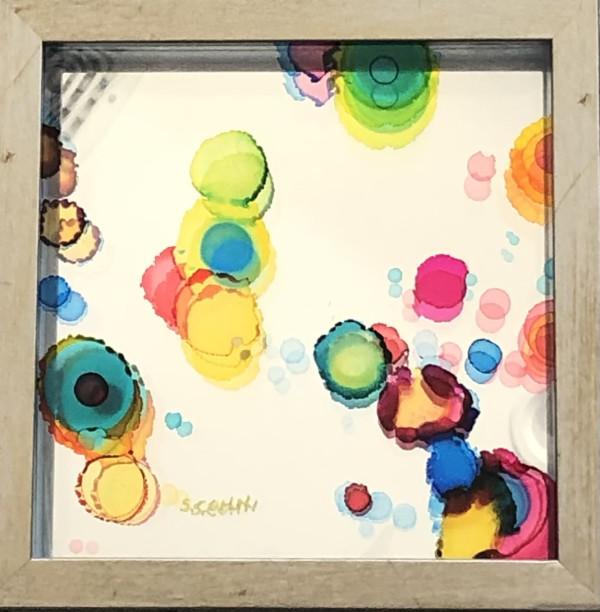 Triptych: Small Reflexions 1 : Small Reflexions 4 : Small Reflexions 10 by Susan Soffer Cohn
