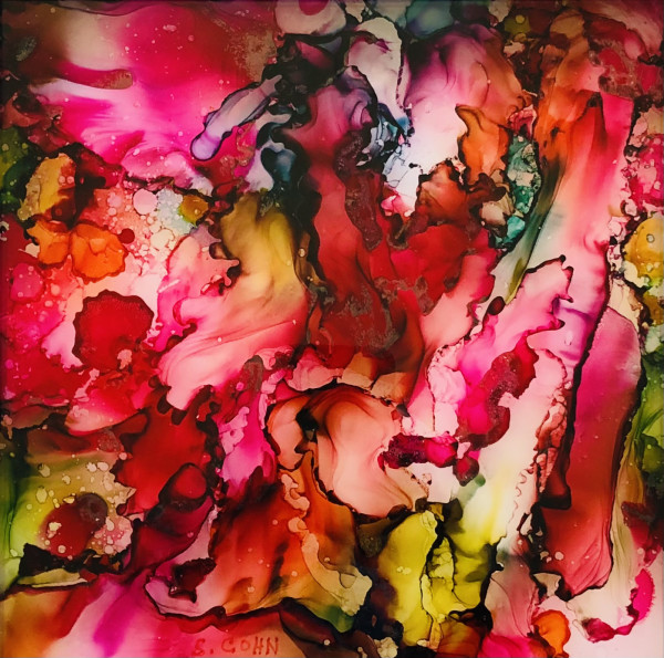 Floral Groove by Susan Soffer Cohn