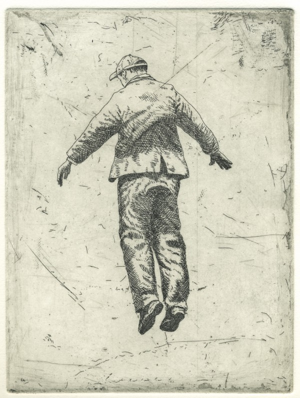 Suspended figure 2 by Graeme Drendel