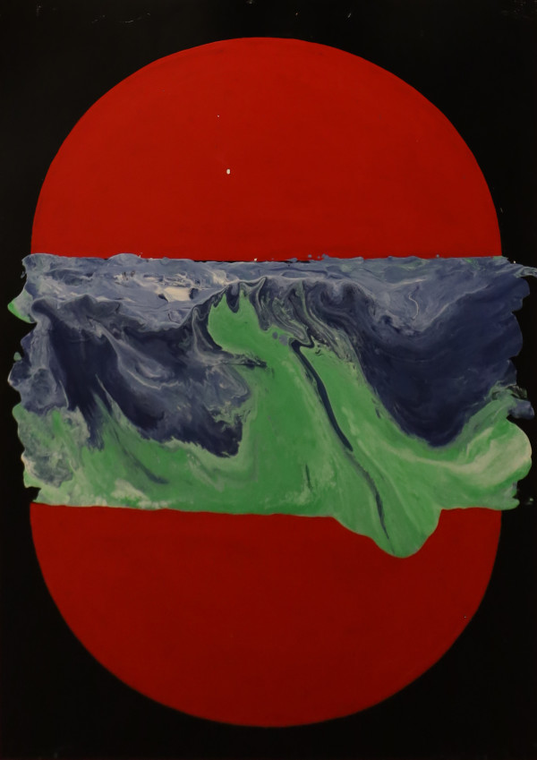 The Creation - Painting 2: Waters by John Bayton