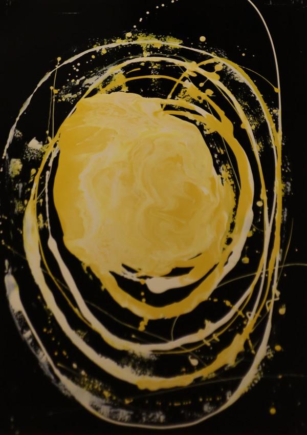 The Creation - Painting 1: Light by John Bayton