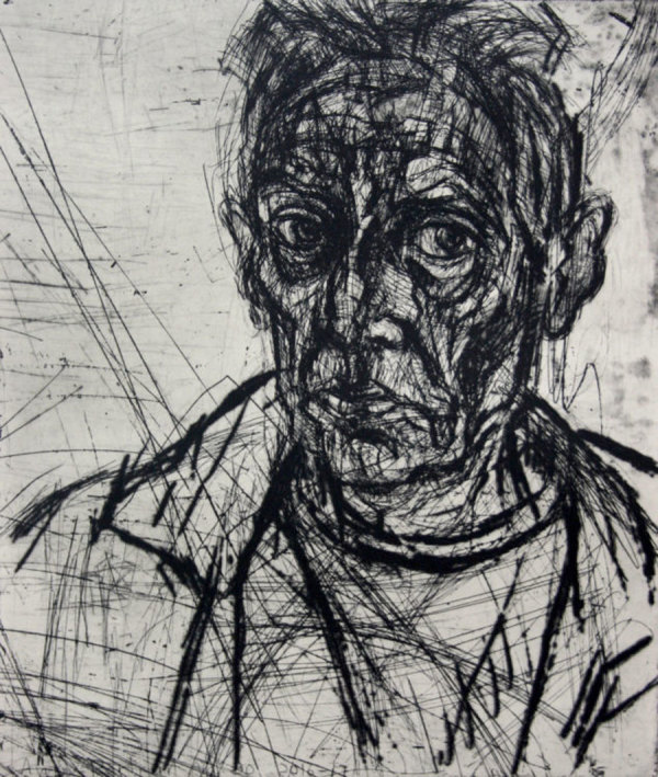 Auto Portrait No.20 by David Fairbairn