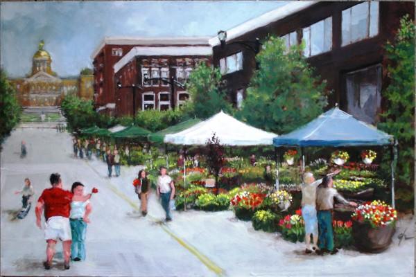 East Side Flower Market by Gary Hoff