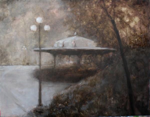 False Dawn, Union Square by Gary Hoff