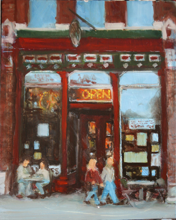 Joe's (study) by Gary Hoff