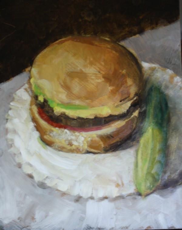Marcee's Burger by Gary Hoff