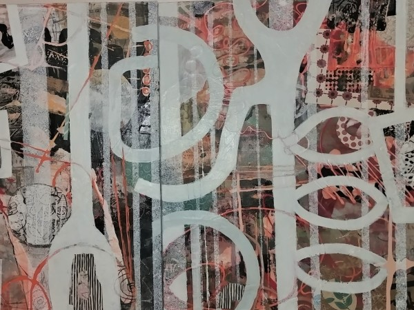 Memories That Linger (Diptych) by Jan Widner