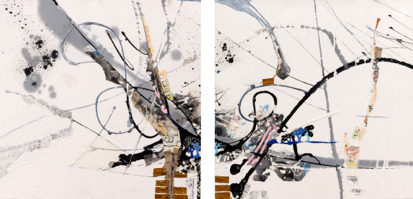 The Ride (diptych) by Jan Widner